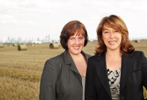 Daniela Scholl und Iris Gadischke von der AuszeitAgentur